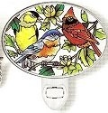 Amia 8504 For The Birds Night Light