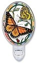 Amia 8658i Rainbows & Butterflies Night Light
