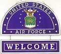 Amia 9355 Air Force Welcome Panel