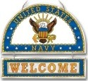 Amia 9357 Navy Welcome Panel