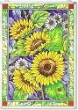 Amia 9716 Sunny Composition Window Panel