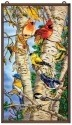 Amia 9749 Songbird Favorites Glass Panel
