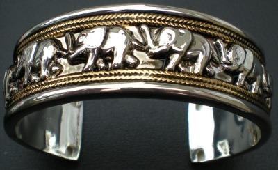 Jewelry - Fashion BRCElephantSilver1 Elephant Bracelet