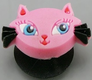 Jewelry - Fashion CROCCatPink Pink Cat Face