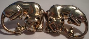Jewelry - Fashion E-WC9 Panther Pierced Earrings