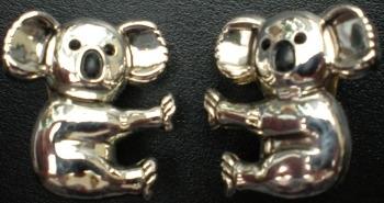 Jewelry - Fashion LB234026 Koala Clip Earrings