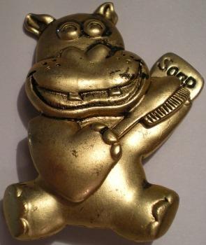 Jewelry - Fashion P-YM138 Hippo Pin Brooch