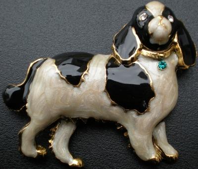 Jewelry - Fashion PINCavalierWhite Cavalier King Charles White Pin Brooch