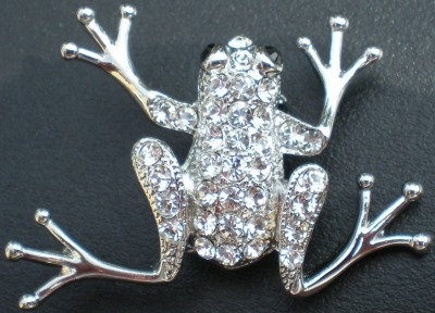 Jewelry - Fashion PINFrogCrystal1 Frog Pin Brooch