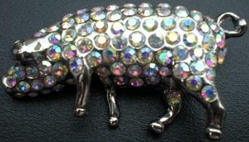 Jewelry - Fashion PINPigSilver Pig Standing Pin Brooch