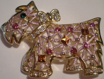 Jewelry - Fashion PINScottiePink Scottie Pin Brooch