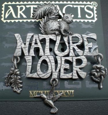 Jewelry - Fashion PINSquirrelSilver1 Nature Lover Pin Brooch