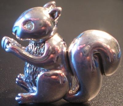 Jewelry - Fashion PINSquirrelSilver2 Squirrel Slide Pin
