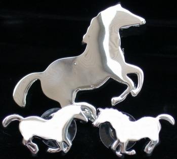 Jewelry - Fashion SETHorseSilver1 Horse Silver Earrings
