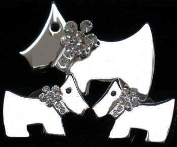 Jewelry - Fashion SETScottieSilver1 Scottie Dog Pendant and Earrings