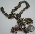 Jewelry - Fashion CHAINFleurDeLis Fleur de Lis Locket & Chain