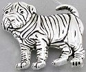 Jewelry - Fashion PINSharPei Shar Pei Slide Pin