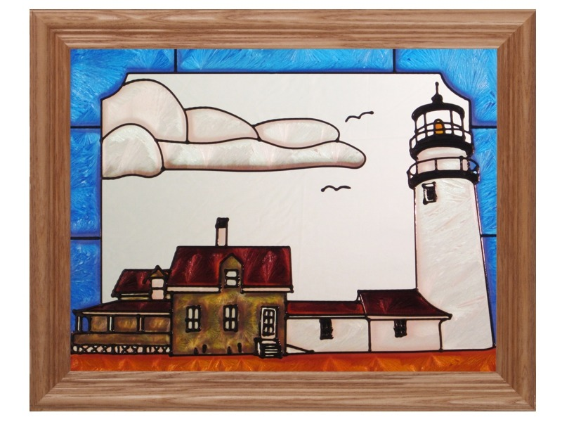 Artistic Gifts Art Glass B249 MA Highland Panel