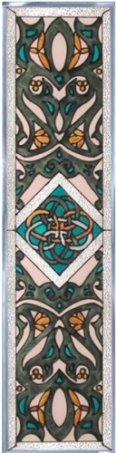 Artistic Gifts Art Glass R176 Celtic LaTene Panel