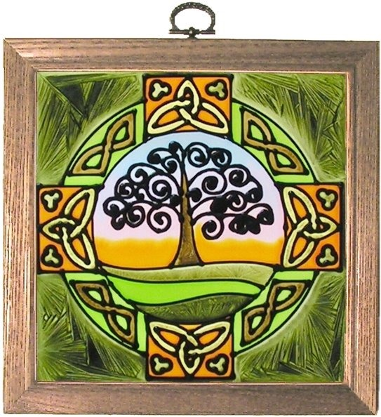 Artistic Gifts Art Glass S049 Tree of Life Panel