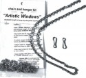 Silver Creek Art Glass 70901 Chain for hanging