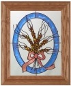 Artistic Gifts Art Glass A020 Wheat Panel