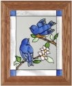 Artistic Gifts Art Glass A045 Babies Vertical Panel