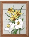 Silver Creek Art Glass B012 Daffodil Panel