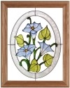 Silver Creek Art Glass B036 Morning Glory Panel