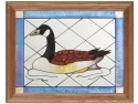 Artistic Gifts Art Glass B058 Bird Canada Goose Panel