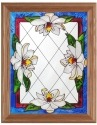 Silver Creek Art Glass B085 Magnolia Panel