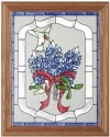 Silver Creek Art Glass B220 Bluebonnets Panel