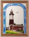 Silver Creek Art Glass B247 NY Montauk Point Panel