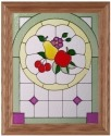 Silver Creek Art Glass H002 Fruit Panel