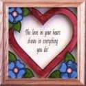 Silver Creek Art Glass S046 Each Day is a Promise Panel