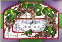 Silver Creek Art Glass V212 Bonjour Horizontal Panel