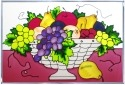 Silver Creek Art Glass V270 Fruit Basket Panel