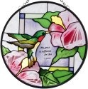 Artistic Gifts Art Glass XS070 Inspirational Round Suncatcher