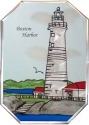Silver Creek Art Glass Z015 MA Boston Harbor Octagon