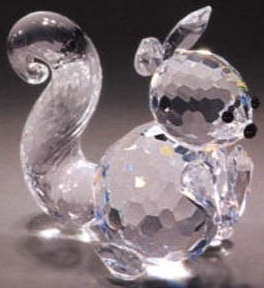 Estate Items 65427 Asfour Crystal Squirrel Large