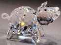 Estate Items 100127 Asfour Crystal Pig
