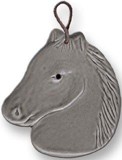 August Ceramics 2003G Gray Ornament
