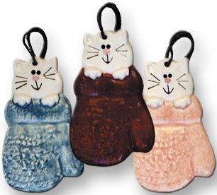 August Ceramics 2010 in Mitten Ornament
