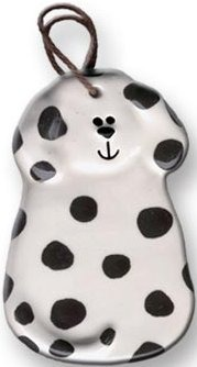 August Ceramics 2047DAL Dalmatian Ornament