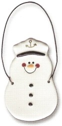 August Ceramics 2068 Sailor Ornament