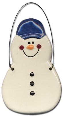 August Ceramics 2070 Baseball cap without a bat Ornament