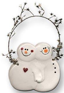 August Ceramics 2078 Ornament