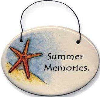 August Ceramics 2109B Verse - Click Photo Disk Hanger