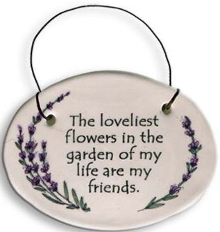 August Ceramics 2110B Verse - Click Photo Disk Hanger
