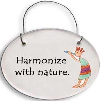 August Ceramics 2117B Verse - Click Photo Disk Hanger